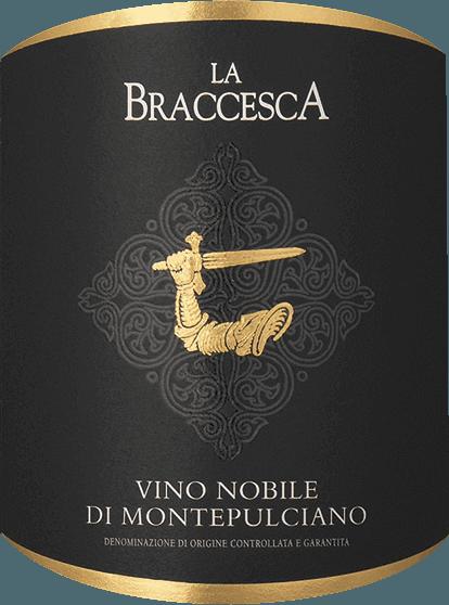 Der Vino Nobile di Montepulciano von Tenuta La Braccesca beeindruckt mit intensiv rubinroter Farbe. Noten von roter Johannisbeere und Brombeere, Veilchen- und Vanillenoten und würzige Aromen, prägen das Bouquet. Am Gaumen, präsentieren sich volle, runde und süße Tanninen, mit intensiven beerigen Geschmacksnoten und eleganter Würze, dicht und strukturiert, sehr elegant, weich und ausgewogen. DAs Finale ist lang, mit feiner mineralischer Note im langen Nachhall. Vinifikation des Vino Nobile di Montepulciano von La Braccesca Für diesen klassischen Vino Nobile werden 90% Sangiovese grosso, in diesem Gebiet auch Prugnolo gentile genannt, und 10% Merlot vinifiziert. Der Sangiovese verleiht den Weinen Eleganz und Aromen, der Merlot Frische, gute Trinkbarkeit und Aromatik. Die Weinlese für die Sangiovese-Trauben findet Anfang Oktober statt, der Merlot reift etwas früher. Nach der manuellen Lese werden die Trauben etwa zehn Tage mazeriert, anschließend wird der Wein in Eichenholzfässer verschiedener Größe gefüllt, in denen die malolaktische Gärung stattfindet, gefolgt vom Ausbau über 12 Monate. Nach der Abfüllung reift der Vino Nobile noch ein weiteres Jahr auf der Flasche bevor er in den Verkauf kommt. Speiseempfehlungen für den La Braccesca Vino Nobile di Montepulciano DOCG Ein Klassiker seiner Art, dieser Rote Vino Nobile, der hervorragend zu typischen toskanischen Gerichten passt, zu pikanten Gemüsegerichten und Schmorgerichten aus Lamm-, Rind- oder Wildfleisch und mittelreife und reife Käsesorten, oder auch gerne mal solo genossen werden kann. Auszeichnungen für den Vino Nobile di Montepulciano DOCG von La Braccesca James Suckling: 91 Punkte für 2016 Falstaff: 90 Punkte für 2016 Wine Spectator: 92 Punkte für 2015 James Suckling: 91 Punkte für 2015 Wine Enthusiast: 91 Punkte für 2015 Robert Parker: 90 Punkte für 2015 Gambero Rosso: 2 Gläser für 2014 Vinous Antonio Galloni: 92 Punkte für 2014