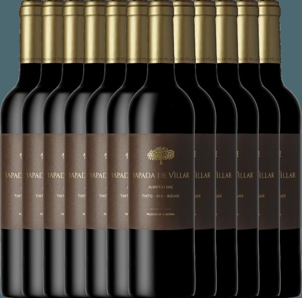 12er Vorteils-Weinpaket Tapada de Villar Tinto 2019 - Quinta das Arcas