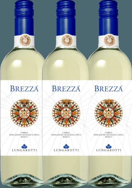 3er Vorteils-Weinpaket - Brezza Bianco Umbria 2020 - Lungarotti