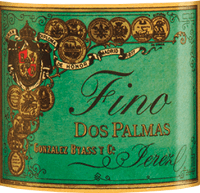 Vorschau: Dos Palmas Fino 0,5 l - Gonzalez Byass