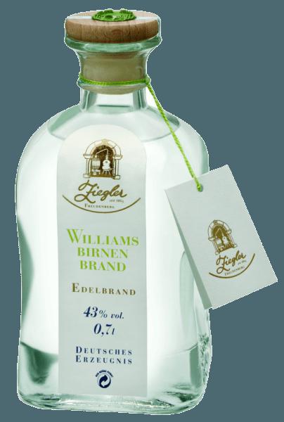 Beim Schwenken des Weinglases Die erste Nase des Die Klassiker Williamsbirnenbrand schmeichelt mit Noten von Quitten, Äpfel und Nashi-Birne. Den fruchtigen Anklängen des Bouquets gesellen sich noch mehr fruchtig-balsamische Nuancen hinzu. Speiseempfehlung zum Ziegler Die Klassiker Williamsbirnenbrand zu