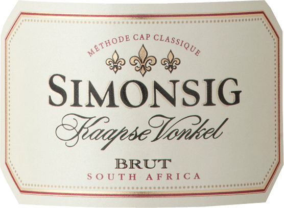 Kaapse Vonkel Brut Methode Cap Classique 2018 - Simonsig von Simonsig