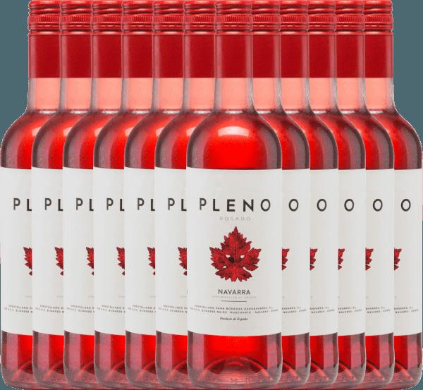 12er Vorteils-Weinpaket - Pleno Rosado DO 2019 - Bodegas Agronavarra