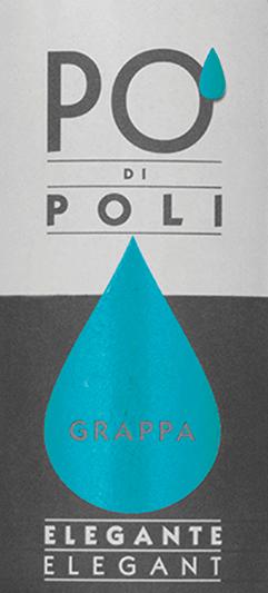 DerPo' di Poli Elegante von Jacopo Poli ist ein samtiger, eleganter Grappa, der aus den Trester der Pinot Bianco Traube (100%) destilliert wird. Im Glas zeigt sich dieser italienische Tresterbrand in einer klaren, transparenten Farbe. Das feinwürzige Bouquet ist von einer vegetabilen Aromatik geprägt - es offenbaren sich Noten nach getrockneten Kräutern, Buchsbaum und Ginster mit einer feinen Wacholderwürze. Sehr sanft mit eleganter, samtiger Textur umschmeicheltdieser Grappa den Gaumen. Destillation des Jacopo Poli Po' di Poli Elegante Der noch frische Trester der Pinot Bianco Traube wird traditionell in alten Kupferbrennkesseln destilliert. Nach dem Brennvorgang hat dieser Grappa noch 75 Vol%. Durch die Zugabe von destilliertem Wasser erreicht dieser Tresterbrand einen Alkoholgehalt von 40 Vol%. Danach ruht dieser Grappa für insgesamt 6 Monate in Edelstahltanks, um abschließend sanft filtriert auf die Flasche gefüllt zu werden. Servierempfehlung für denPo' di Poli Elegante Jacopo Poli Grappa Genießen Sie diesen Grappa bei einer Temperatur von 10 bis 15 Grad Celsius als wundervollen Abschluss eines köstlichen Menus.