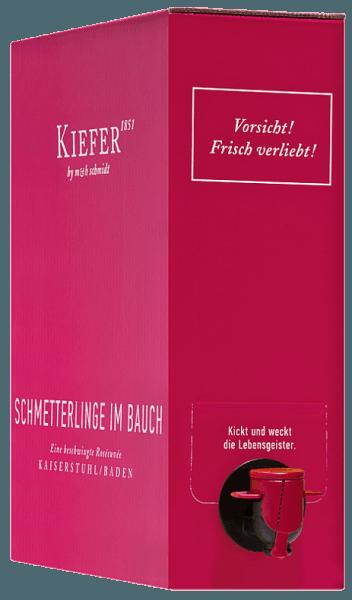 Schmetterlinge im Bauch Rosé 3,0 l Bag in Box Weinschlauch 2019 - Weingut Kiefer von Weingut Kiefer