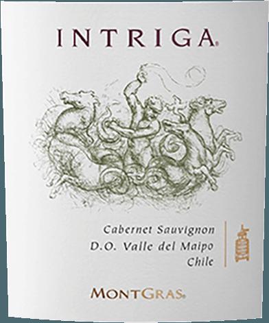 Intriga Cabernet Sauvignon 2017 - Vina Montgras von Viña Montgras