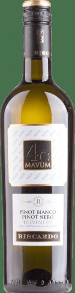 Mavum Pinot Bianco Pinot Nero Trevenezie 2020 - Biscardo