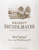 Vorschau: Grau- und Weißburgunder Langenloiser Spiegel 2017 - Bründlmayer