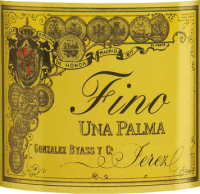 Vorschau: Una Palma Fino 0,5 l - Gonzalez Byass