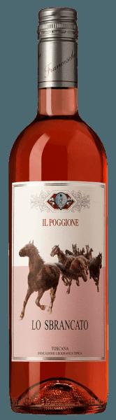 Der leuchtend rosafarbene Lo Sbrancato Toscana Rosato IGT von Tenuta il Poggione ist ein enorm fruchtiger Tropfen, mit einem Bouquet von roten Früchten, frisch-herbem Granatapfel und Himbeere und eine leicht weinige ätherische Note im Hintergrund. Am Gaumen wirkt er sehr frisch und fein, im Geschmack lassen sich Erdbeeren und Himbeeren erkennen. Leichter, voller Körper mit feinen Tanninen, cremig und frisch, ein Rosé mit der Struktur eines Sangiovese. Vinifikation des Lo Sbrancato Toscana Rosato IGT von Tenuta Il Poggione Für diesen Rosato aus der Toskana werden 100% Sangiovese-Trauben vinifiziert. Den Namen erhät dieser Wein von dem geleichnamigen Bild, welches im historischen Degustationssaal des Weingutes hängt. Der Most wird 24 Stunden mit den Schalen mazeriert, der abgezogene Traubenmost wird dann 25 Tage temperaturkontrolliert weiter vergoren und anschließend abgefüllt. Food pairing für den Lo Sbrancato Toscana Rosato IGT von Tenuta Il Poggione Geniessen Sie diesen fruchtigen, geschmackvollen Rosato aus der Toskana als Aperitif oder als Begleiter von italienischen Vorspeisen, zur klassischen toskanischen Bruschetta, zum Aufschnitt mit Schinken, Salami, zu Gemüsegerichten, gegrillt oder gedünstet, Meeresfrüchten und Weichkäse.