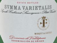 Vorschau: Summa Varietalis Tinto DO 2015 - Marques de Grinon