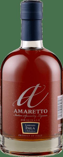 Der Amaretto Originale von Lorenzo Inga verzückt mit seinen feinwürzigen und süßen Aromen von Mandel und Vanille. Dieser klassische Mandellikör ist am Gaumen süß und weich mit einem augeprägten Geschmack von Marzipan. Im Finish sind Karamell und Schwarzkirschen wahrzunehmen. Servierempfehlung für den Amaretto Originale von Lorenzo Inga Genießen Sie diesen Amaretto als Aperitif, zu Desserts oder in Cocktails und Longdrinks.
