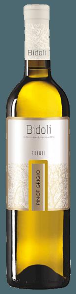 Der Pinot Grigio Grave del Friuli von Bidoli präsentiert sich mit einem hellen Gelb und grünlichen Reflexen im Glas. Das Bouquet dieses italienischen Pinot Grigios erinnert dabei an einen Früchtecocktail mit den herrlichen Aromen von Zitrusfrüchten, Pfirsichen, Aprikosen und Melonen. Dieser Weißwein überzeugt am Gaumen mit seiner Vollmundigkeit und einem kraftvollen, lebhaften und mineralischen Eindruck. Abgerundet wird dieser Wein durch ein elegantes Finale. Speiseempfehlung für den Pinot Grigio von Bidoli Genießen Sie diesen trockenen Weißwein zu leichten Suppen, zum Beispiel einer Zucchinischaumsuppe, Lachsrollen mit Spinat und Frischkäse oder zu Geflügelspießen.