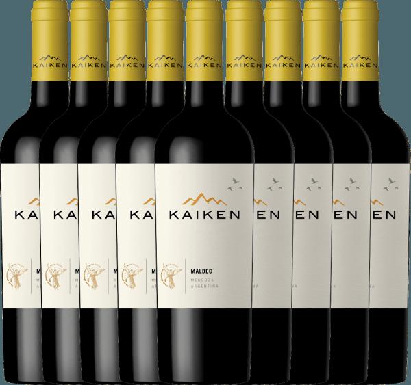 Der Kaiken Malbec ist ein aromatischer Rotwein aus Argentinien, dessen jugendliche Eleganz auf einer außergewöhnlichen Balance zwischen Frucht, samtenen Tanninen und knackiger Fruchtsäurestruktur basiert. Sie erhalten unseren argentinischen Bestseller nun im praktischen 9er Paket. Mehr zu diesem trockenen Wein erfahren Sie im Einzelartikel des Kaiken Malbec.