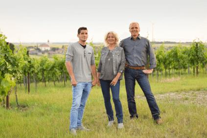 Roland, Gerlinde und Günter Veit