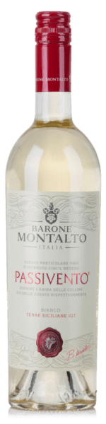 Passivento Bianco Terre Siciliane IGT 2020 - Barone Montalto