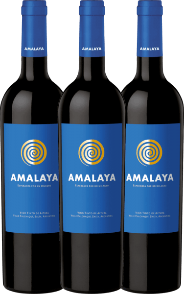 3er Vorteils-Weinpaket - Amalaya Tinto 2019 - Bodega Colomé