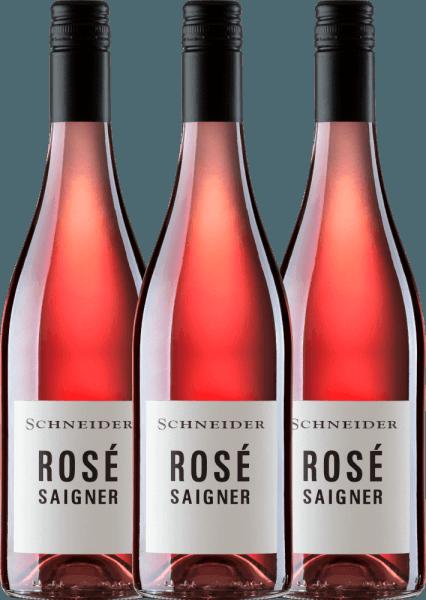 3er Vorteils-Weinpaket - Saigner Rosé trocken 2019 - Markus Schneider