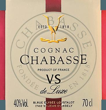 Cognac VS de Luxe - Cognac Chabasse von Cognac Chabasse