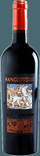 """Di Majo Norante Sangiovese aus Molise Der Sangiovese Terre degli Osci IGT von Di Majo Norante zeigt sich mit brillant rubinroter Farbe. Dieser herrliche Sangiovese von der """"anderen Küste"""" Italiens offenbart der Nase ein frisches und fruchtiges Bouquet, bei dem Veilchen und Waldfrüchte im Vordergrund stehen, im Hintergrund ist eine leichte Ledernote erkennbar. Am Gaumen ist dieser Rotwein von Di Majo Norante wunderbar trocken, vollmundig und weich, schön strukturiert und geprägt von angenehmen Kirsch- und Pflaumennoten rollt er über die Zunge. Im mittellangen Abgang klingen die fruchtigen und würzigen Noten aus dem Bukett aus. Vinifikation des Sangiovese Terre degli Osci von Di Majo Norante Die Trauben für diesen reinsortigen Sangiovese wachsen auf kalkhaltigen Böden, die mit 50 bis 100 m Höhe fast sanft dem Meer zugewandt sind. Nach der manuellen Lese im Oktober werden die Trauben für die Dauer von einem Monat auf den Schalen mazeriert. Die malolaktische Gärung wird vollständig ausgeführt. Bevor der Sangiovese von Di Majo Norante in den Verkauf kommt, ruht er mindestens noch 3 Monate im Flaschenlager. Speiseempfehlungen für den Sangiovese Terre degli Osci von Di Majo Norante Dieser Sangiovese aus Molise passt wunderbar zu Vorspeisen, Nudeln mit geschmackvollen Soßen, Wildbret, Fleisch und Hartkäse. Am besten schmeckt er, wenn er bei 16° bis 18°C serviert wird. Prämierungen für den Sangiovese von Di Majo Norante Gambero Rosso: 1 Glas für 2016 Gambero Rosso:2 Gläser für 2015"""