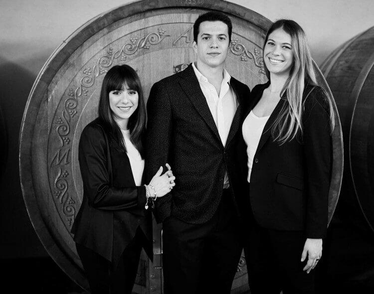 Marzia, Angelo und Francesca Varvaglione