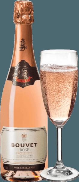 Crémant de Loire Brut Rosé Excellence - Bouvet Ladubay von Bouvet Ladubay