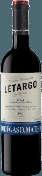 Letargo Tempranillo 2019 - Bodegas D. Mateos