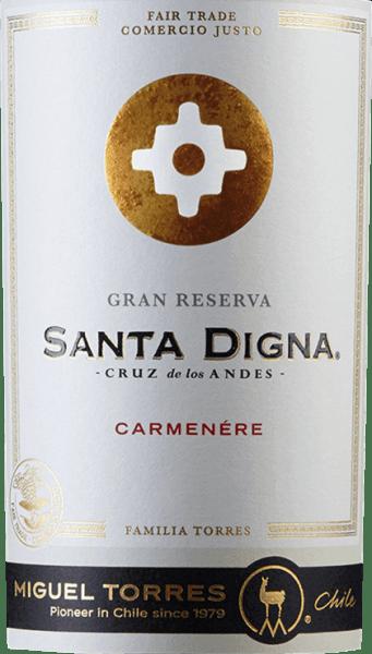 Santa Digna Carmenère Gran Reserva 2019 - Miguel Torres Chile von Miguel Torres Chile