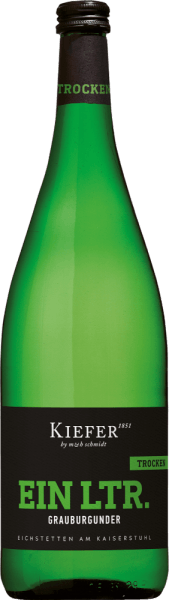 Grauburgunder trocken 1,0 l 2020 - Weingut Kiefer