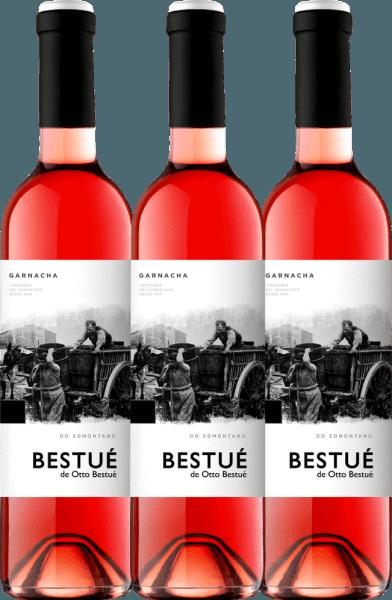 3er Vorteils-Weinpaket - Bestué Rosado Somontano DO 2019 - Otto Bestué