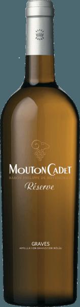 Mouton Cadet Réserve Graves Blanc AOC 2018 - Baron Philippe de Rothschild