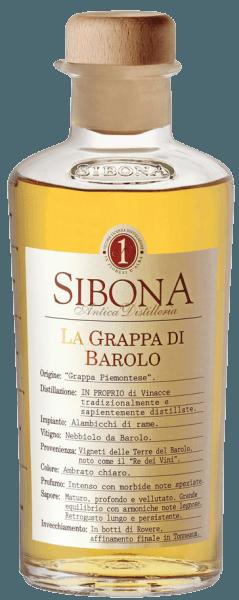 La Grappa di Barolo - Linea Graduata - Sibona