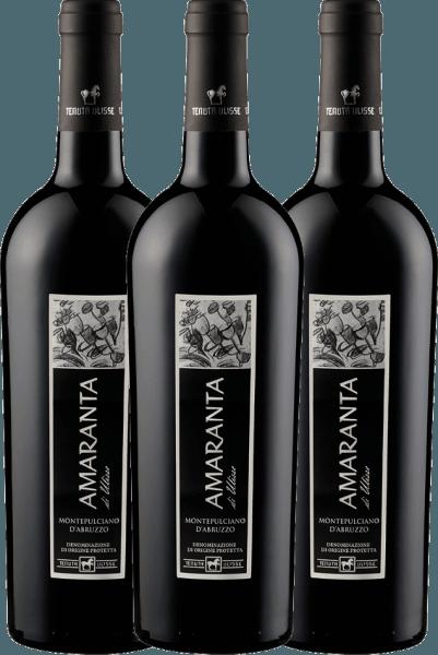 3er Vorteils-Weinpaket - AMARANTA Montepulciano d'Abruzzo DOC 2017 - Tenuta Ulisse