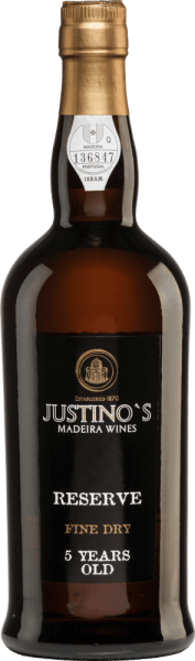 Reserve Fine Dry 5 Years Old - Vinhos Justino Henriques von Vinhos Justino Henriques