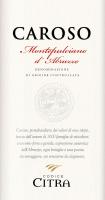 Vorschau: Caroso Montepulciano d'Abruzzo Riserva DOC 2017 - Citra Vini