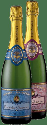 Zwei Cremants de Bourgogne