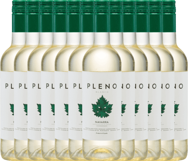 12er Vorteils-Weinpaket - Pleno Blanco DO 2019 - Bodegas Agronavarra