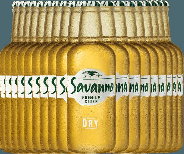 18er Vorteilspaket - Savanna Premium Dry Cider - Savanna