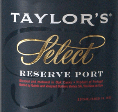 Ruby Select Reserve - Taylor's Port von Taylor's Port