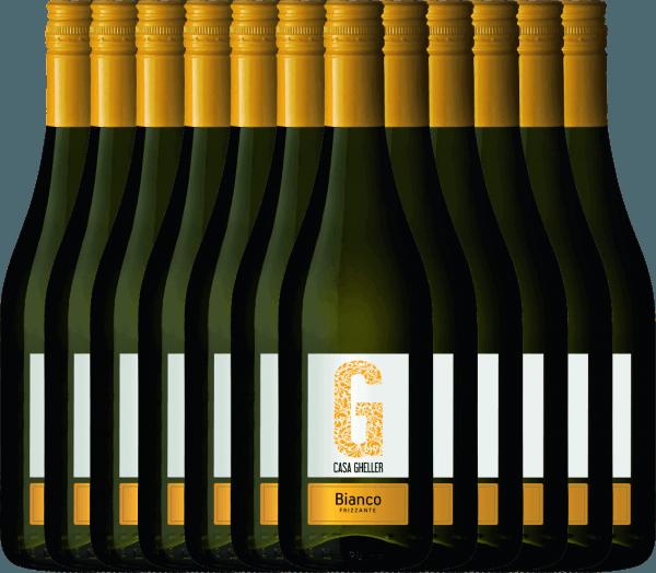 12er Vorteilspaket - Bianco Frizzante IGT - Casa Gheller