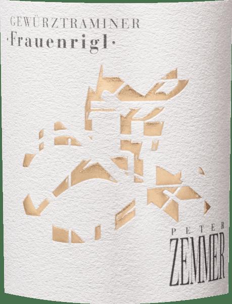 Frauenrigl Gewürztraminer Südtirol DOC 2018 - Peter Zemmer von Weingut Peter Zemmer