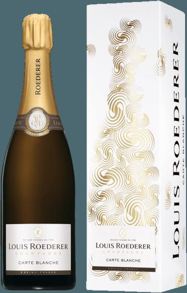 Roederer Carte Blanche in Geschenkverpackung- Champagne Louis Roederer