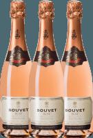 Vorschau: 3er Vorteils-Weinpaket - Crémant Brut Rosé Excellence - Bouvet Ladubay