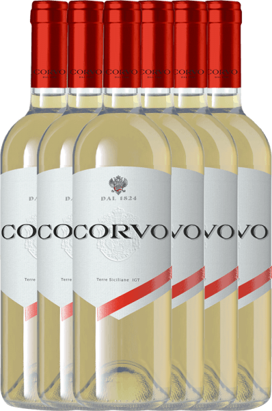 6er Vorteils-Paket - Corvo Bianco Terre Siciliane 2020 - Duca di Salaparuta
