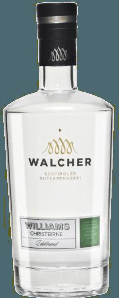 Der Williams Christ Edelbrand ist fruchtig und sehr mild im Geschmack und ist ein Klassiker unter den Südtiroler Edelbränden. Die Brennerei Walcher liegt in der Nähe von Bozen, wo ein mildes und mediterranes Klima vorherrscht. Die Sommer sind heiß und die Winter mild, was für die Obstbäume ein optimale Bedingungen bedeutet, um vollreife Früchte zu produzieren. Herstellung des Williams Christ Edelbrand Dieser edle Obstbrand wird ausschließlich aus handverlesenen und vollreifen Früchten produziert. Während dem Herstellungsverfahren wurde er zweimal destilliert. Servierempfehlung für den Williams Christ Edelbrand Genießen Sie diesen Obstbrand pur, zum Beispiel als Digestif.
