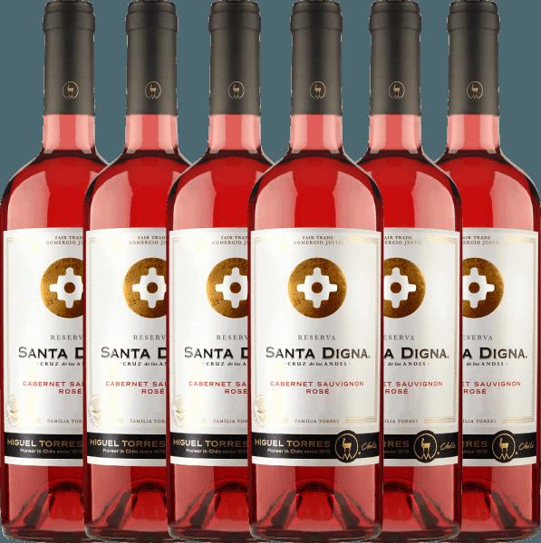 6er Vorteils-Weinpaket Santa Digna Rosé 2020 - Miguel Torres Chile