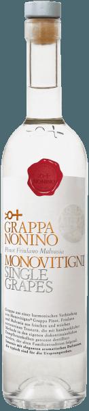 Grappa Monovitigni Single Grapes - Nonino Distillatori