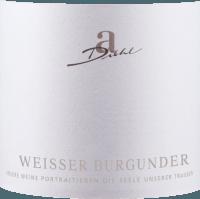 Vorschau: Weißer Burgunder trocken 1,0 l 2020 - A. Diehl