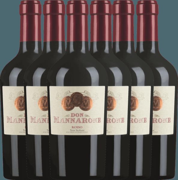 6er Vorteils-Weinpaket Don Mannarone Terre Siciliane IGT 2019 - Mánnara