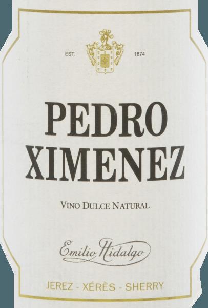 Pedro Ximénez Vino Dulce Natural 0,5 l - Emilio Hidalgo von Emilio Hidalgo
